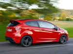 Ford Fiesta Zetec S Red 2014 года (UK)